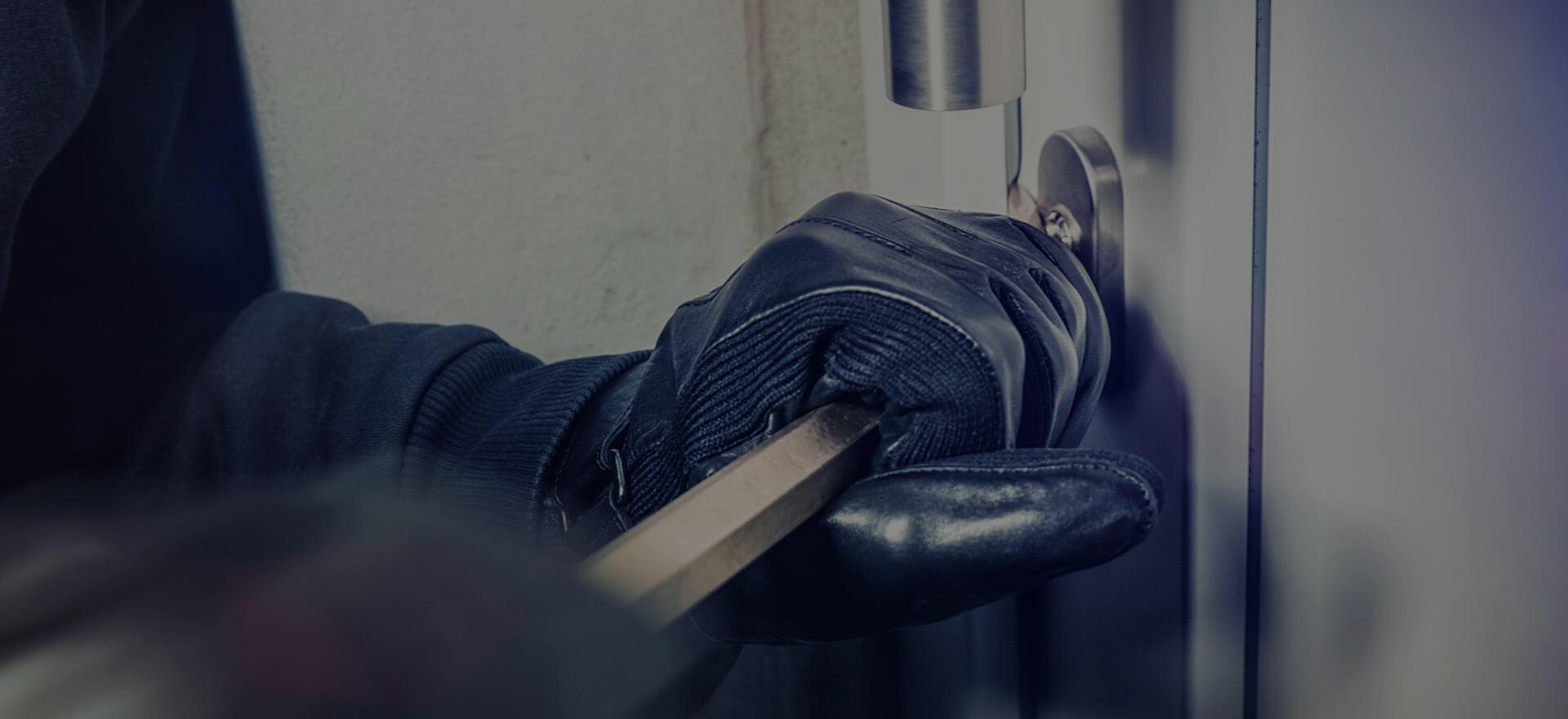 Alarma contra robo en el hogar