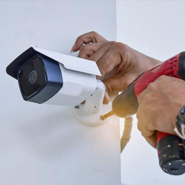 Instalación CCTV cuadrado